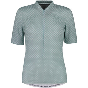 Maloja CostettaM. Shortsleeve Bike Jersey Damen cliff clover